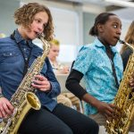Benefits of music lesson provided in schools